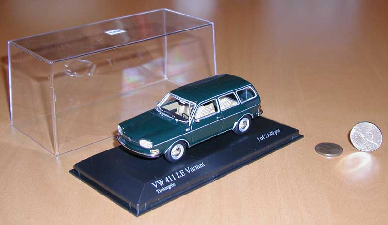 Minichamps 411 Wagon - Deep Sea Green