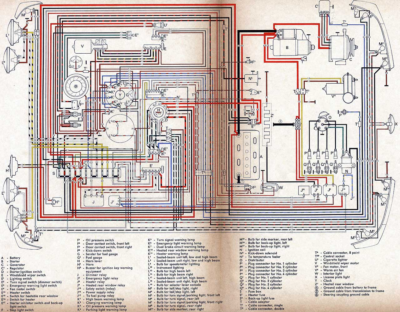 Vw Bug Wiring Diagram Gota Wiring Diagram