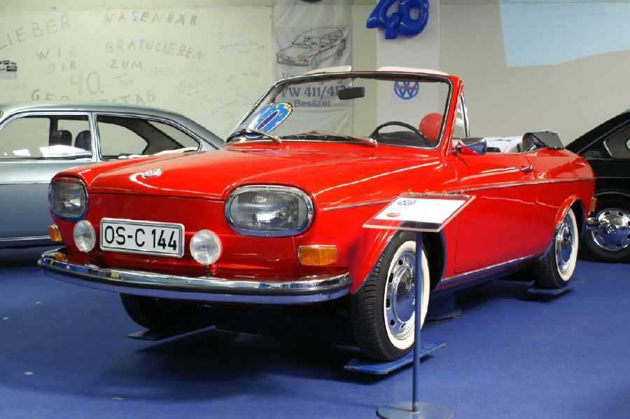 The VW 411 Cabriolet prototype