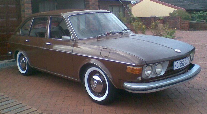 Melvin Naidoo's South African 1973 4-door